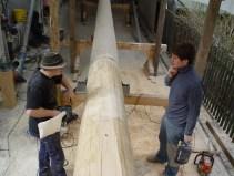 Arbeiten am Baum 23.04.2005 - 53