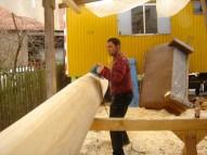 Arbeiten am Baum 23.04.2005 - 58
