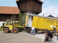 Bauwagen Herrichten 26.03.2005 - 13