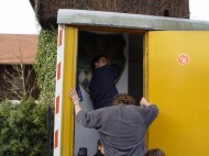 Bauwagen Herrichten 26.03.2005 - 27