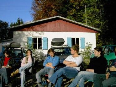 Huettenwochenende 22.10.2005 - 073
