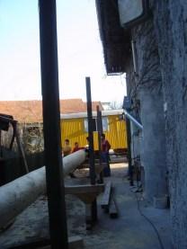 Maibaum Dachbau 04.04.2005 - 13