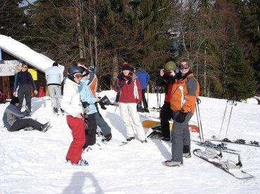 Skiwochenende Grainau 17.-19.02.2006 - 05