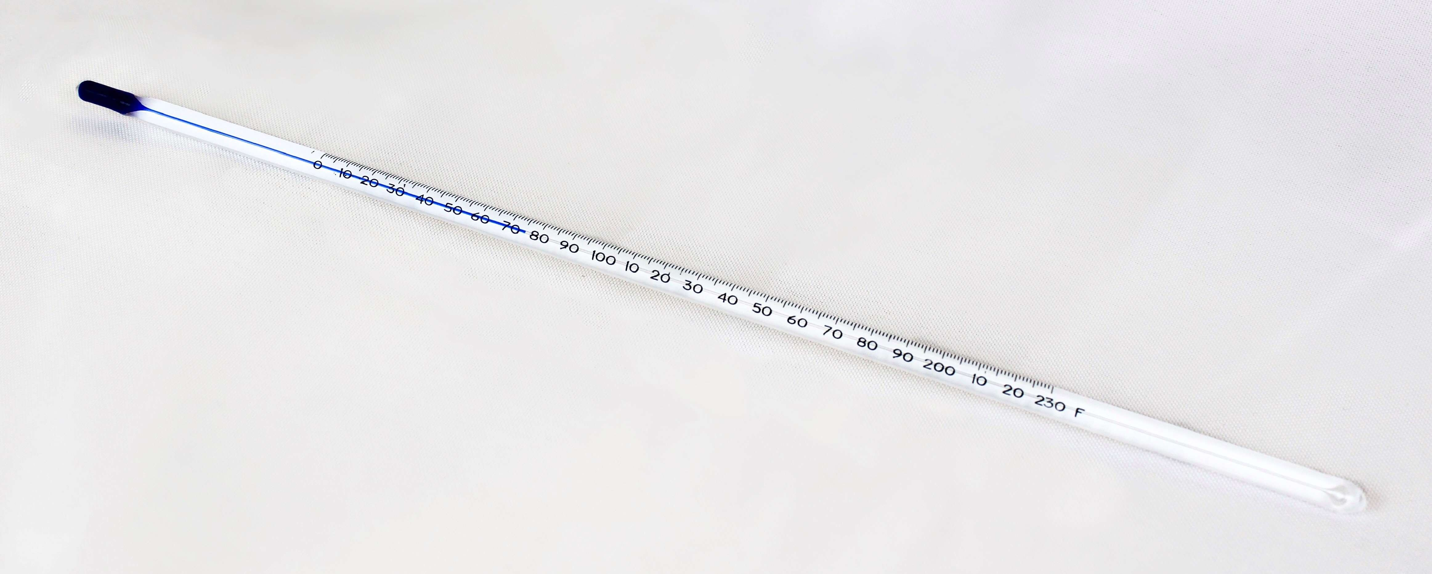 Thermometer, PerformaThermTM, Blue Liquid-In-Glass