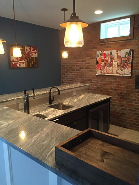 kitchen design ideas refurbishing cabinets basement & wet bar gallery – lkc construction corp. | ...