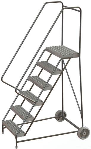 Aluminum Wheelbarrow-Style Ladder, Aluminum Ladder