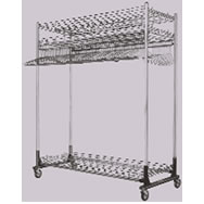 Commercial Garment Rack Systems, Industrial Garment Rack
