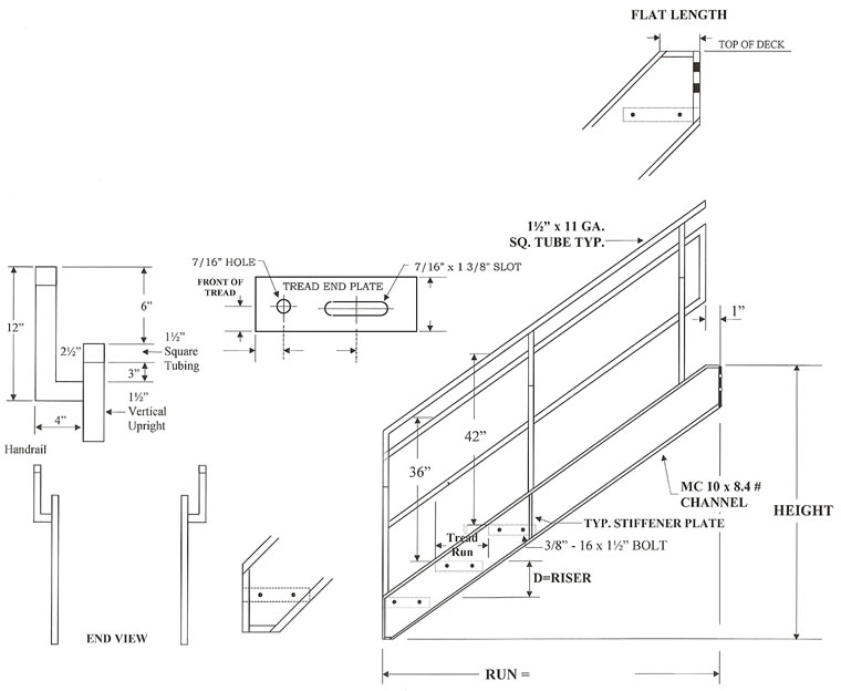 stair structural diagram