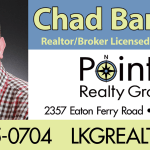 Chad Barbour Lake Gaston Realtor billboard