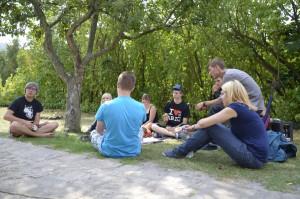 FSJ Kultur Einführungsseminar SG1 2012/2013 Cyriakushaus Gernrode