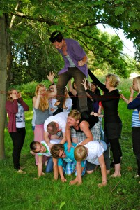 Ausreiseseminar für den IJFD- und weltwärts 2012/2013 Landesjugenbildungsstätte Peseckendorf