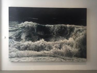 Wellenbild auf der documenta