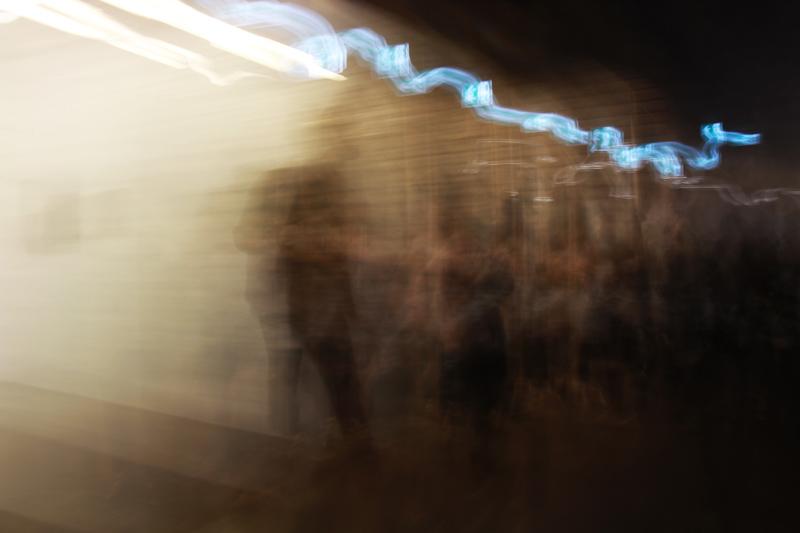Lichtspiele auf der documenta