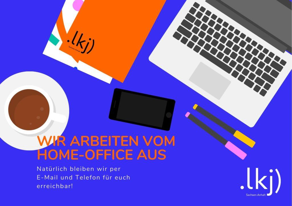 Wir arbeiten vom Home-Office aus!