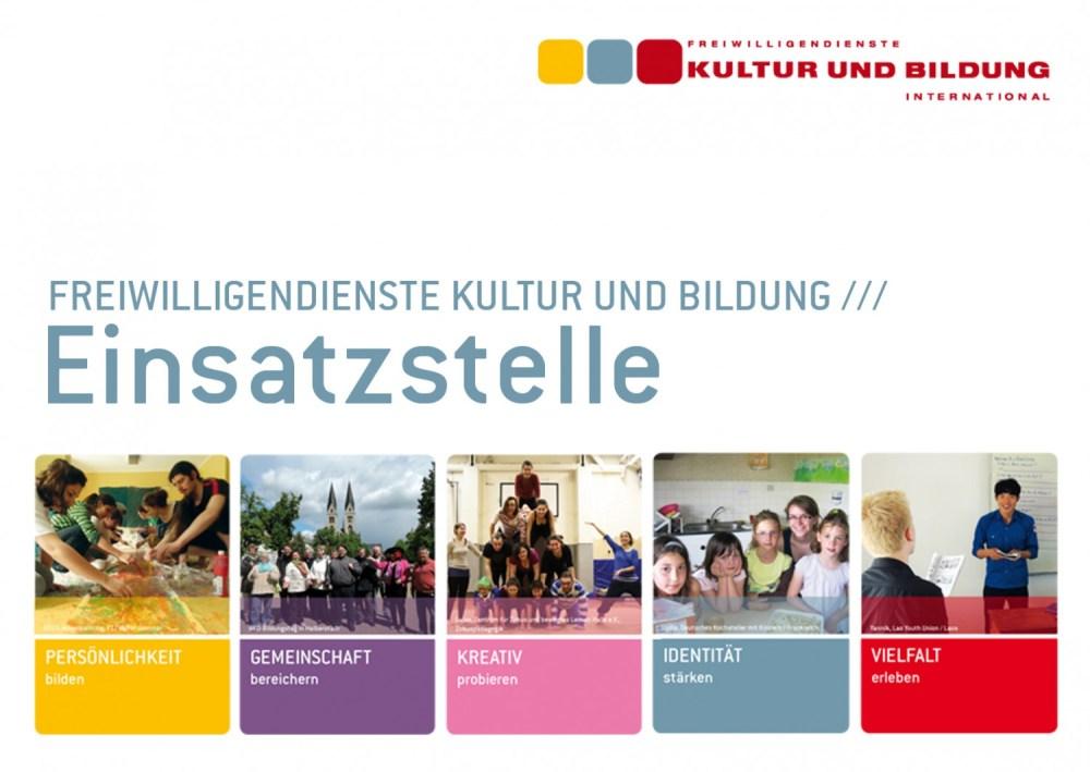 Einsatzstellen Freiwilligendienste Kultur und Bildung International