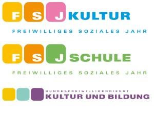 BFD-FSJ-Logos Kultur und Bildung