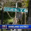 Dixieland Lane street sign