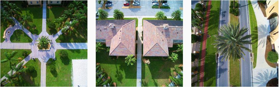 SEU aerials photos