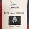 city hall visitor badge