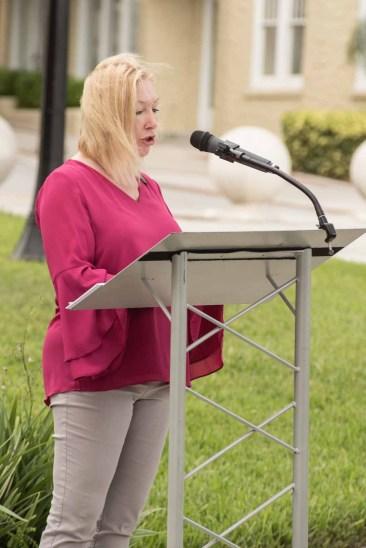 Platform Art Executive Director Cynthia Haffey