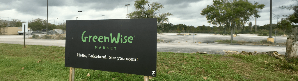 Lakeland GreenWise sign