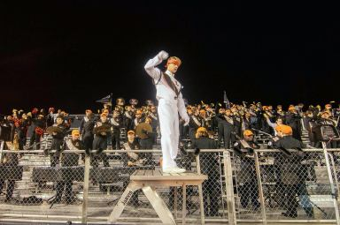 LHS Drum Major Alexander Bush