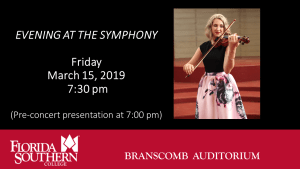 FSC Evening at the Symphony @ Branscomb Auditorium - Davis Performing Arts Center