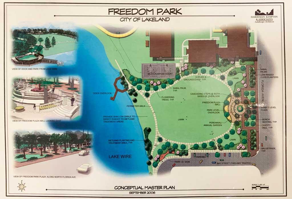 Freedom Park plan