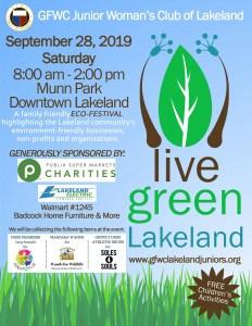Live Green Lakeland EcoFest @ Munn Park