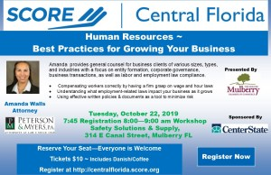 Human Resources – Best Practices for Growing Your Business @ Safety Solutions & Supply