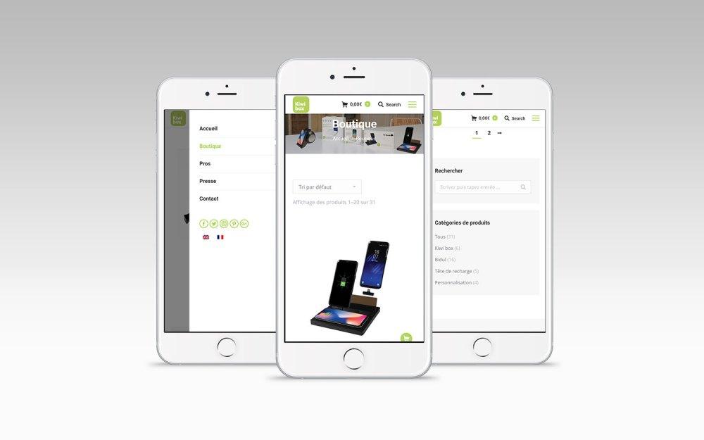 boutique en ligne Kiwi Box