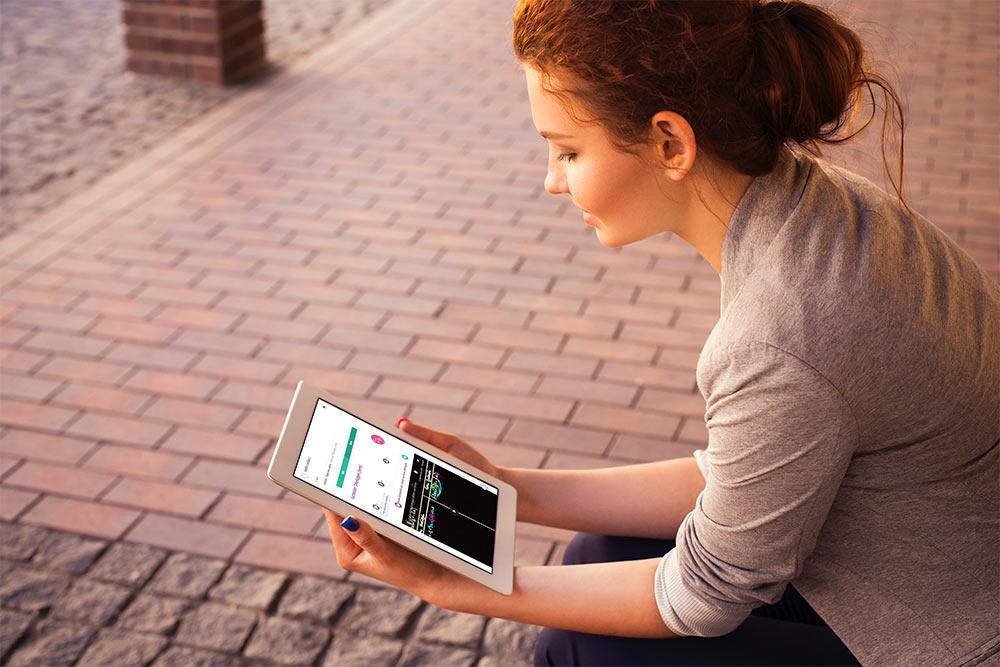 math en vidéo sur tablette