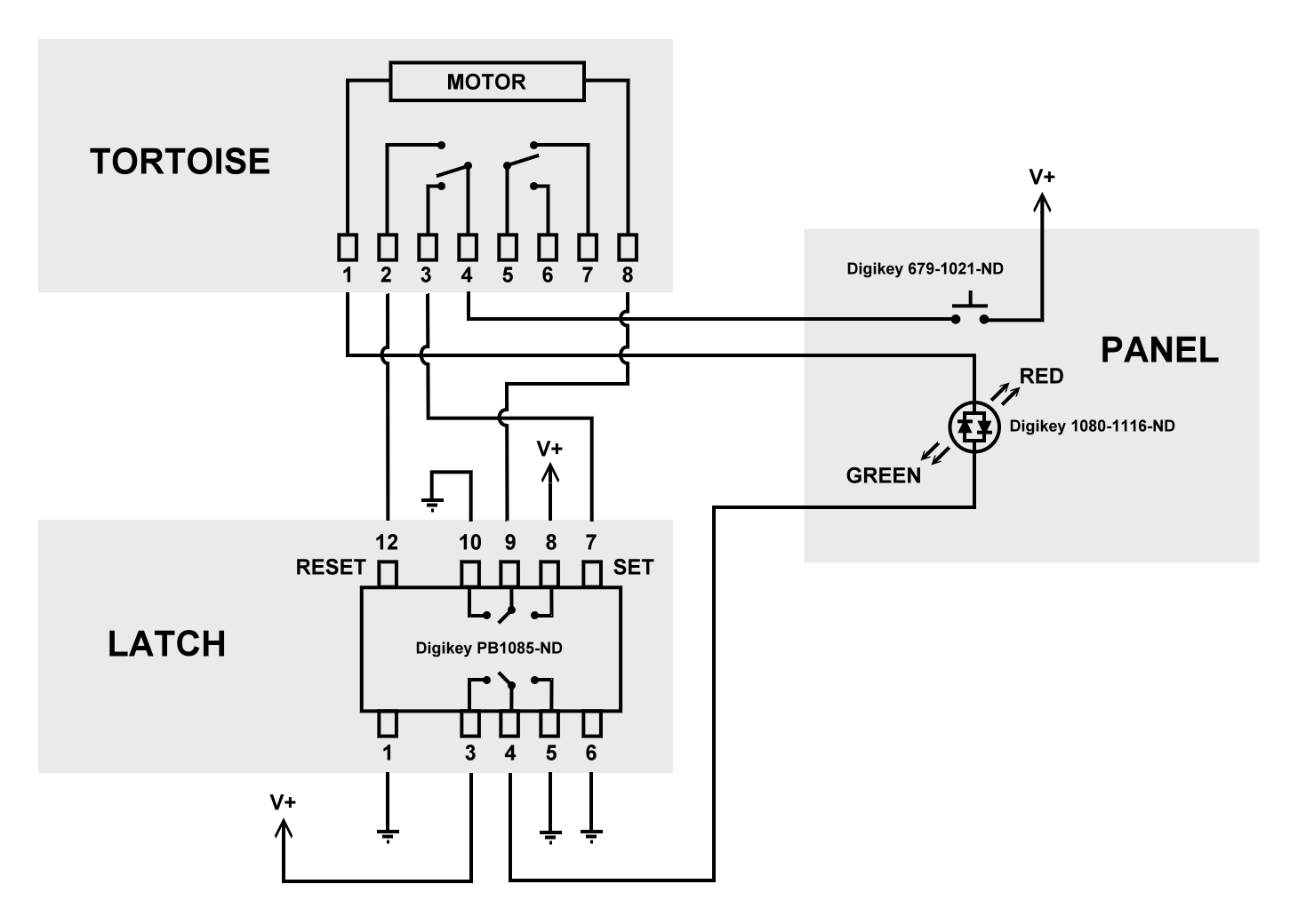 [DIAGRAM] Tortoise Switch Machine Wiring Diagram Connector