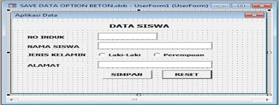 Tutorial Simpan Data Dengan Macro VBA