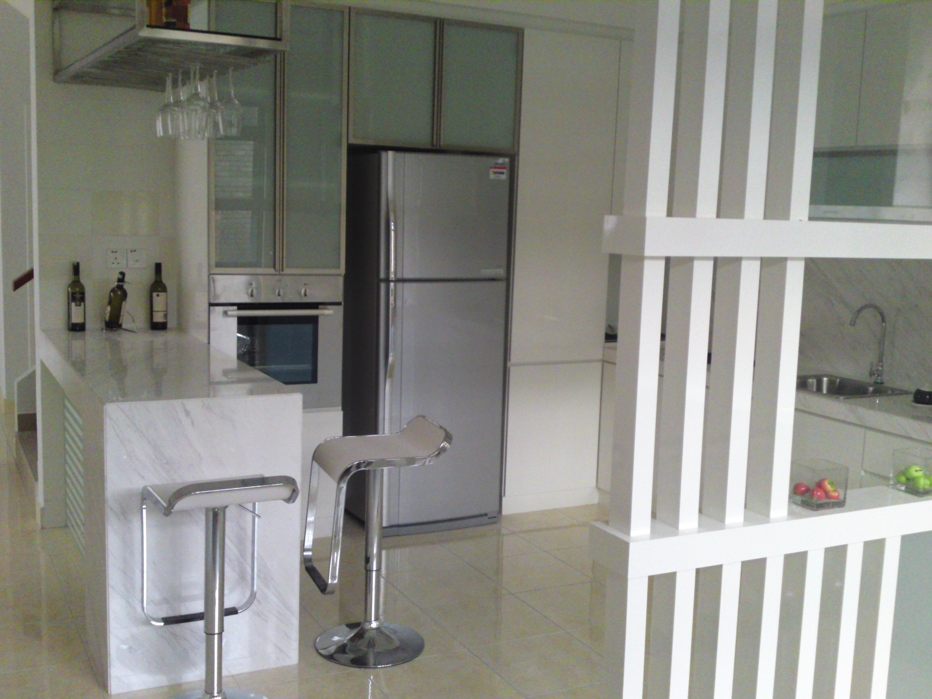 Kitchen Cabinet With Bar Counter LKY Renovation Works