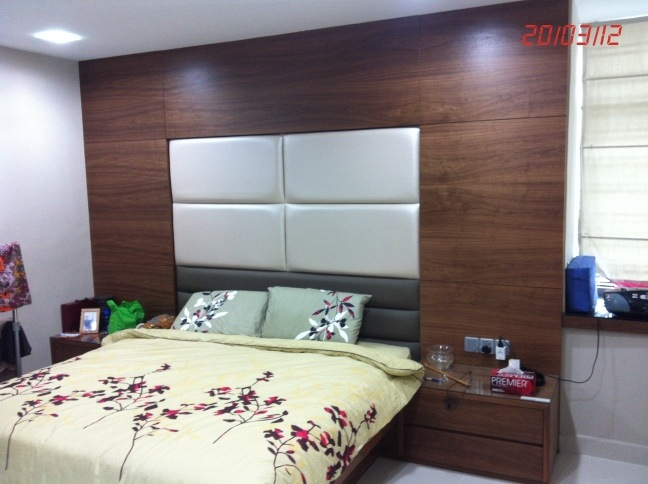 Built In Bed Frame With Cushion Lky Renovation Works