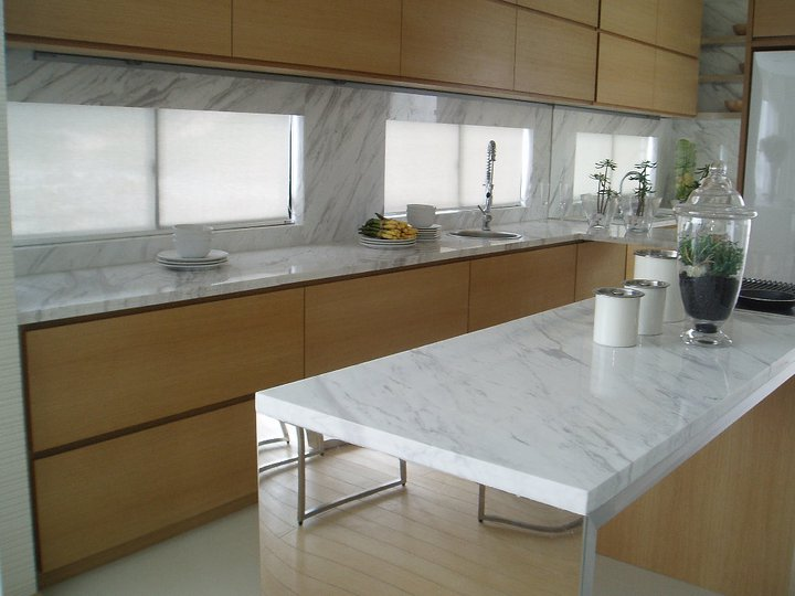 Marble Kitchen Counter Top  LKY Renovation Works