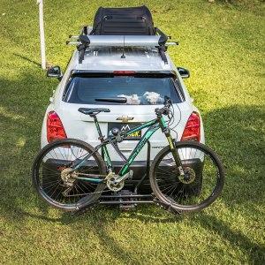 Portabicicleta Peruzzo South Dakota X 2 Hitch Bike Rack