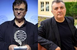 Los escritores Vilas y Cercas. Premios Planeta 2019