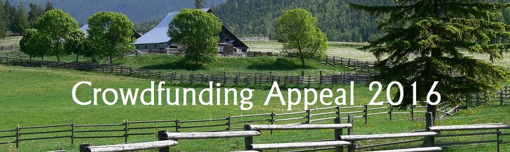 Crowdfunding Appeal 2016