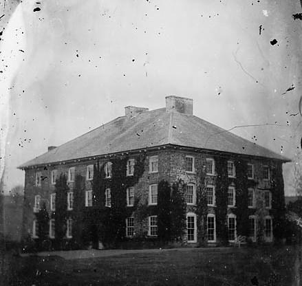 Cwm Mabws Mansion c1875 Llanrhystud