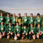 Llanrhystud F.C. 1991-2 football season