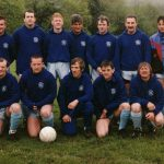 Llanrhystud F.C. early team photo