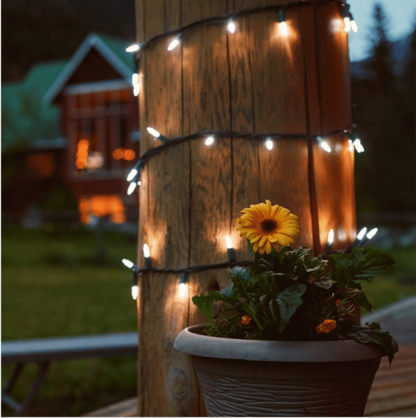 Use your holiday lights to make your summer more festive