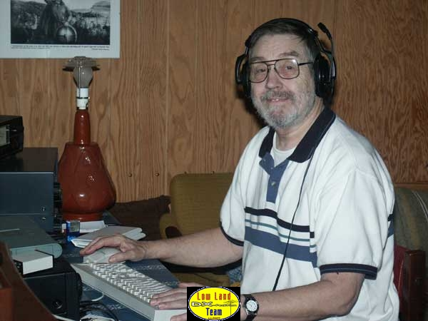 Bill OY7WB and most of the time OY8PA in RTTY, he doesn't give up!