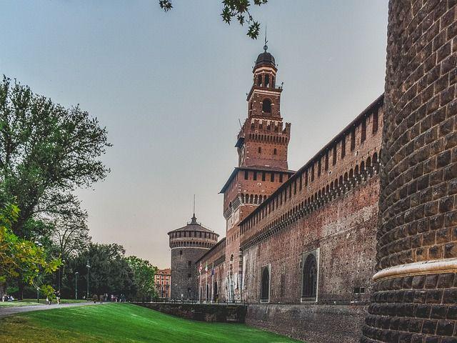 qué ver en Milán; Castillo Sforzesco