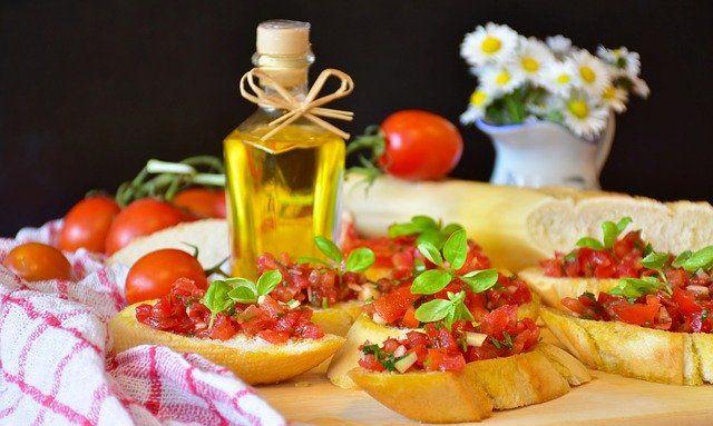 Platos de cocina italiana: Bruschetta
