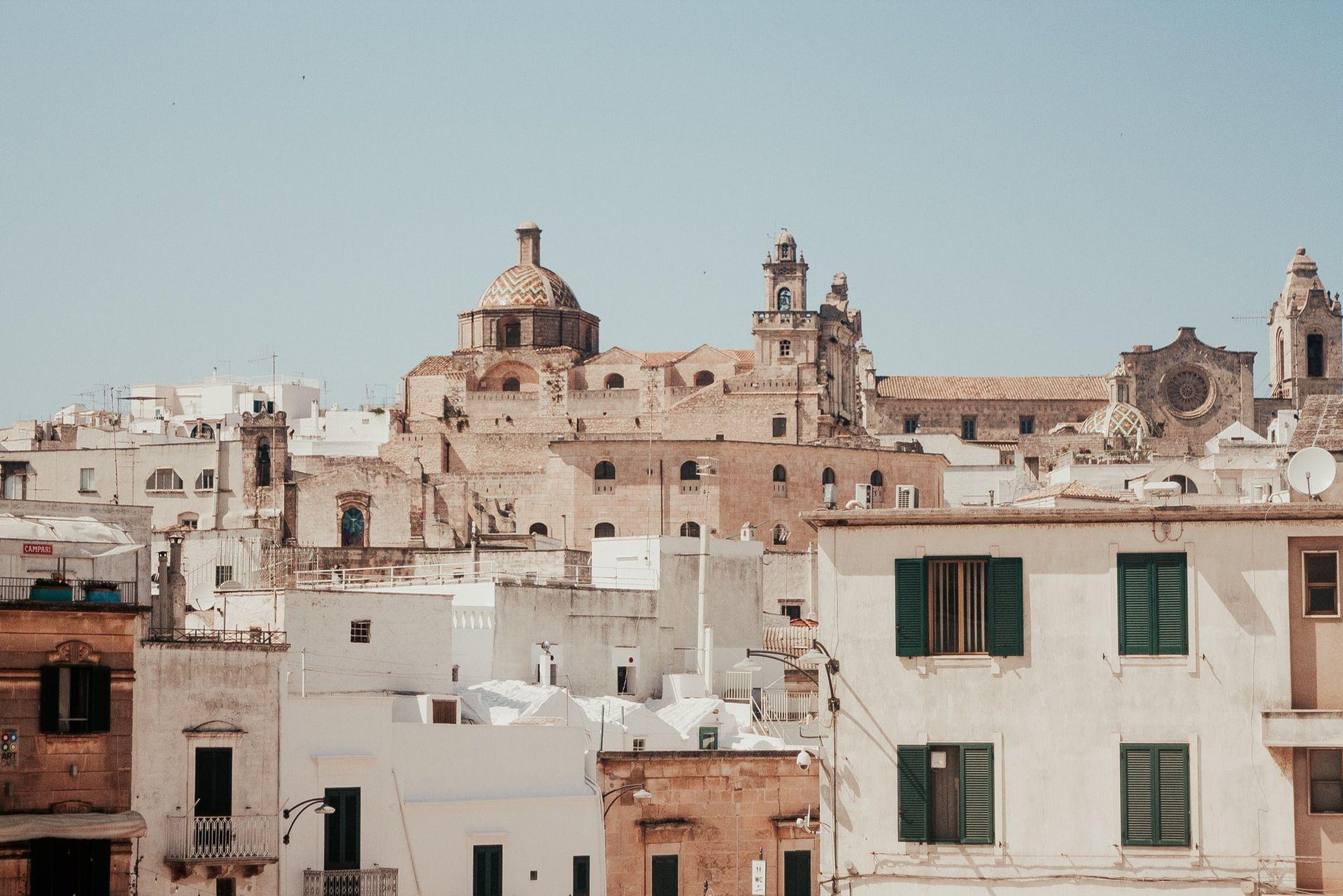 Como ir de Bari a Lecce