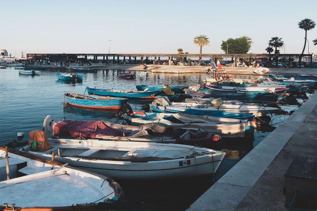 Donde aparcar en Bari