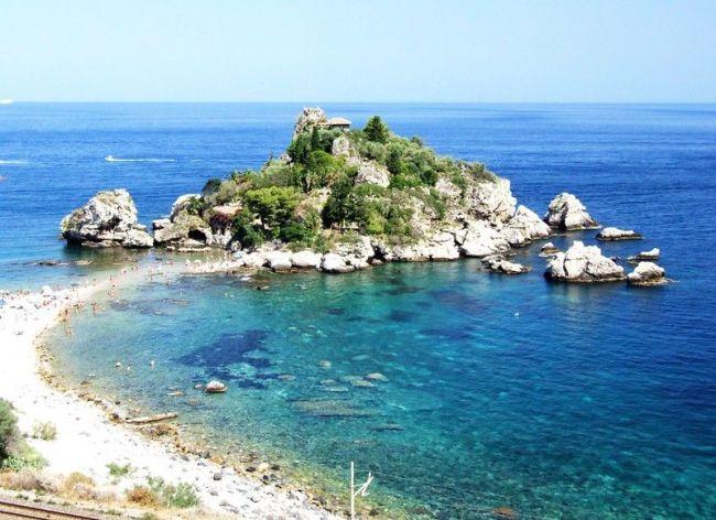 Mejores playas de Sicilia: Isola Bella